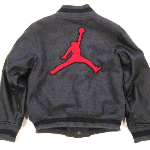 Jordan By Nike Varsity Jacket Wool Faux